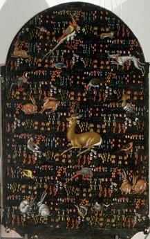 """Bernardino di Mariotto, Madonna del Soccorso (verso)  Pinacoteca Comunale """"P. Tacchi Venturi"""", SAN SEVERINO MARCHE"""