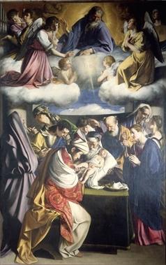 """Orazio Gentileschi, La circoncisione  Pinacoteca Civica """"F. Podesti"""", ANCONA"""