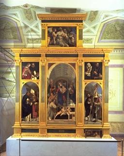 Lorenzo Lotto, Polittico di San Domenico