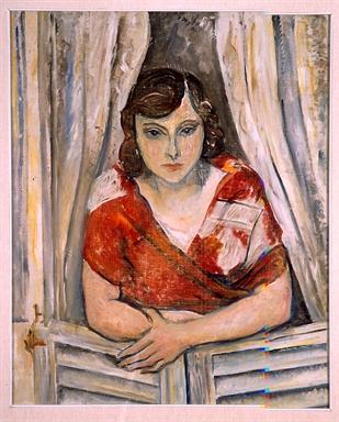 Osvaldo Licini, Ritratto femminile