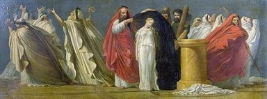 Ambito francese, Scena de La Vestale di Gaspare Spontini