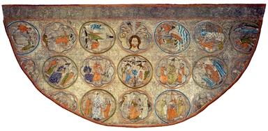 Manifattura inglese, Piviale di Niccolò IV