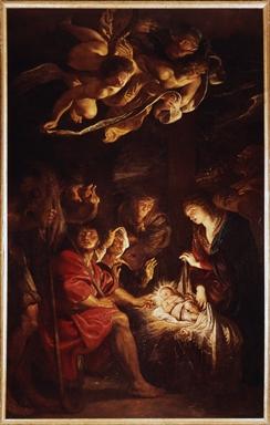 Pieter Paul Rubens, Adorazione dei pastori  Polo Museale di Palazzo dei Priori, FERMO