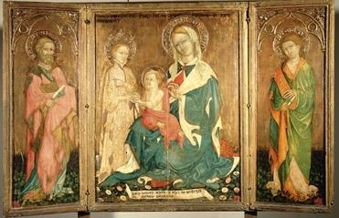 Lorenzo Salimbeni, Nozze mistiche di Santa Caterina d'Alessandria