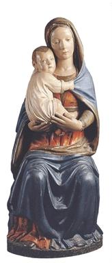 Maestro della Madonna di Macereto, Madonna col Bambino