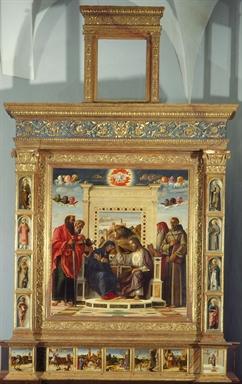 Giovanni Bellini, Incoronazione della Vergine (Pala di Pesaro)