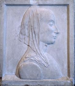 Francesco Laurana, Ritratto di Battista Sforza