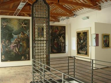 Museo di San Francesco, interno