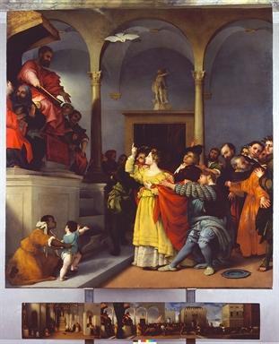 Lorenzo Lotto, Pala di Santa Lucia