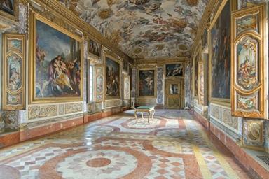 Galleria dell'Eneide, piano nobile