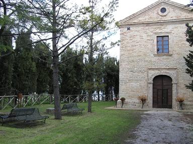 Veduta esterna della Ex Chiesa del Crocifisso, sede del Museo
