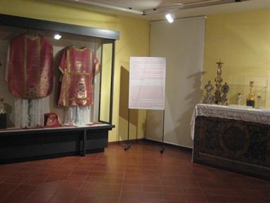 Museo di arte sacra, interno
