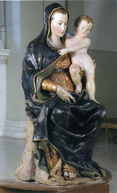 Simone De Magistris, Madonna con Bambino