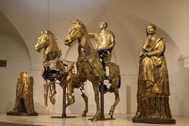 Bronzi dorati da Cartoceto di Pergola