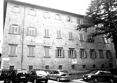 Palazzo Bonaventura, sede della Biblioteca storica di Papa Clemente XI