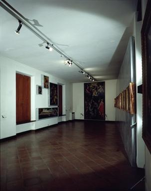 Veduta di una delle sale della Pinacoteca Civica Podesti