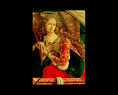 Cristo deposto con la Madonna, Santa Maria Maddalena e San Giovanni Evangelista