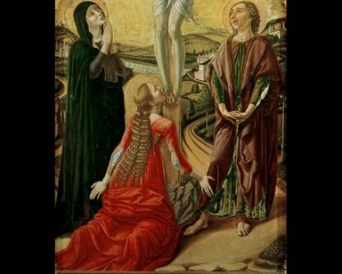Crocifissione di Cristo (Trittico di Camerino)
