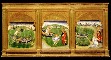 San Pietro cammina sulle acque