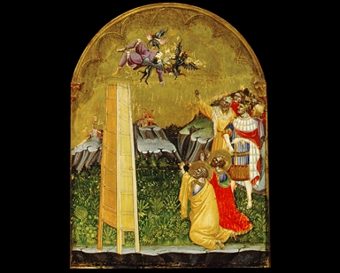 San Pietro e San Paolo assistono alla caduta di Simon Mago