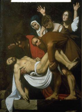 deposizione di Cristo nel sepolcro