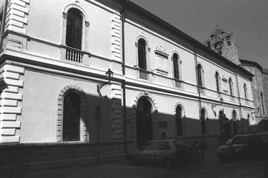 """Polo Culturale S. Agostino, sede della Biblioteca Comunale """"Giulio Gabrielli"""""""