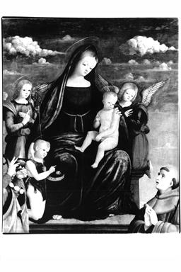 Madonna con Bambino in trono con Santa Maria Maddalena e Sant