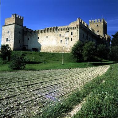 """Castello della Rancia, sede del Museo Archeologico """"Aristide Gentiloni Silverj"""""""