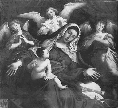 Madonna con Bambino e angeli