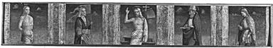 Cristo risorto benedicente tra San Sebastiano, San Liberale, San Nicola e San Rosso