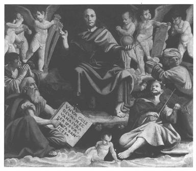 Cristo Redentore e quattro profeti