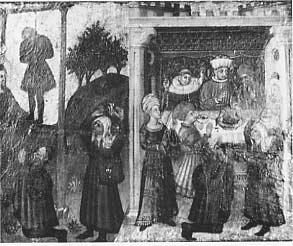 San Giacomo salva un impiccato