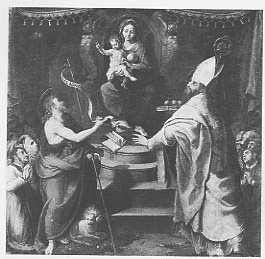 Madonna con Bambino in trono, San Giovanni Battista e San Nicola di Bari