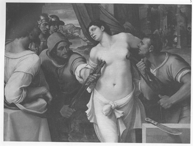 martirio di Sant