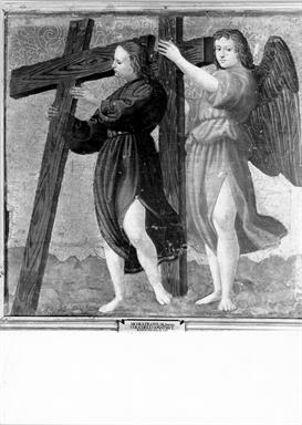 Angeli sorreggenti la croce