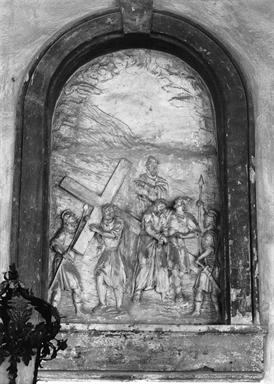 stazione VI: Gesù asciugato dalla Veronica