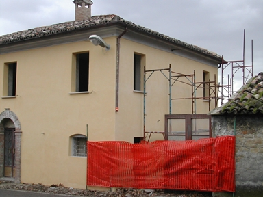 Palazzo in via Clementina