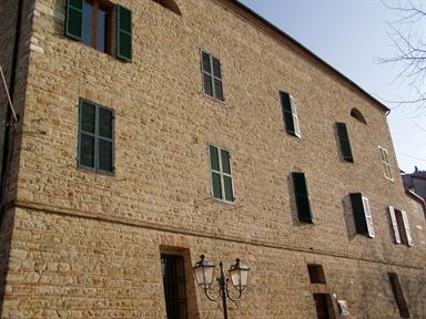 Ex Ospedale degli Infermi, sede del Museo del Vino di Staffolo