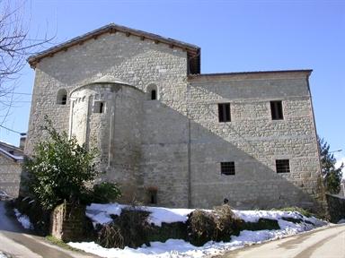 Casa canonica della Chiesa di S. Stefano in Marsia