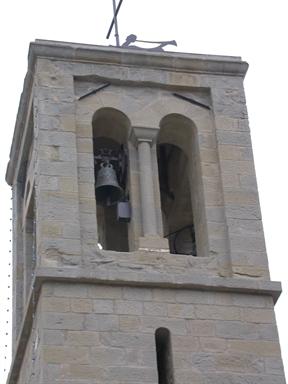 Campanile della Chiesa di S. Stefano in Marsia