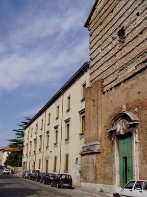 """Ex Convento di S. Francesco, sede della Biblioteca Civica """"Passionei"""""""