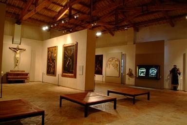 Una delle sale del Museo