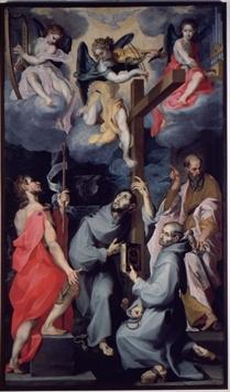 Quattro Santi in estasi
