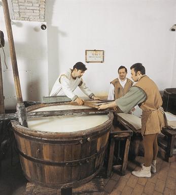 Interno del Museo della carta e della filigrana