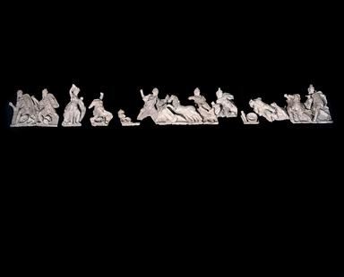 Frontone del tempio di Civitalba