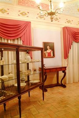 """Veduta di una delle sale del Museo """"Gaspare Spontini"""""""