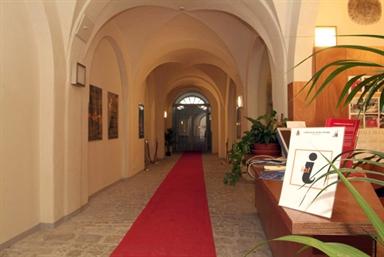 """Interno del Museo Civico Parrocchiale """"Maria Crocifisso Satellico"""""""
