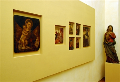 Sala della pinacoteca