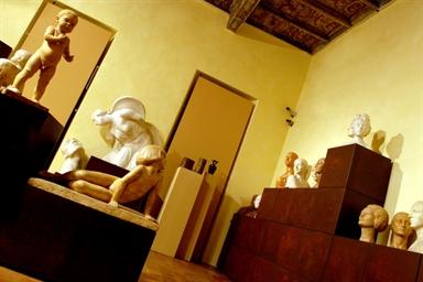 Sala della Pinacoteca Civica di Palazzo Bonomi Gera