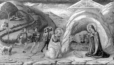 Natività di Gesù (Trittico di Camerino)